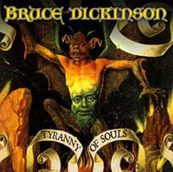 Bruce Dickinson - Tyranny Of Souls - Cover