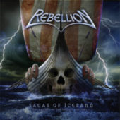 Rebellion - Sagas Of Iceland - CD-Cover
