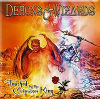 Demons & Wizards - Touched By The Crimson King - Cover