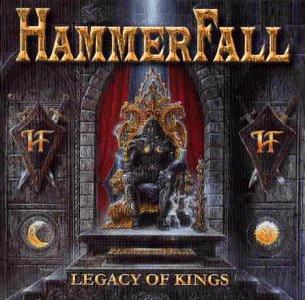 Hammerfall - Legacy Of Kings - Cover