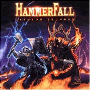 Hammerfall - Crimson Thunder - Cover
