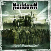 Naildown - World Domination - CD-Cover