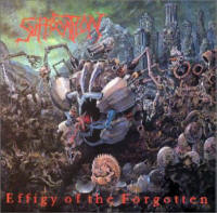 Suffocation - Effigy Of The Forgotten - Cover