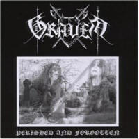 Graven - Perished And Forgotten - Cover