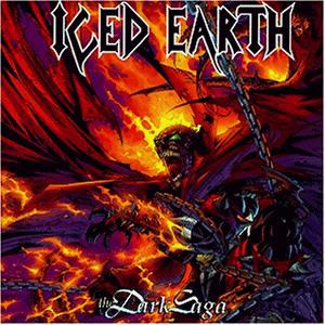 Iced Earth - The Dark Saga - Cover
