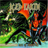 Iced Earth - Days Of Purgatory - CD-Cover