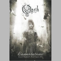 Opeth - Lamentations (DVD) - Cover