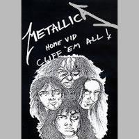 Metallica - Cliff'em All (VHS) - Cover