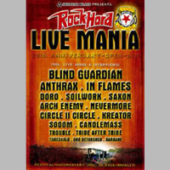 RockHard Festival - Live Mania (DVD) - CD-Cover
