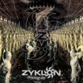 Zyklon - Disintegrate - CD-Cover