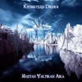 Kivimetsän Druidi - Mustan Valtikan Aika - CD-Cover