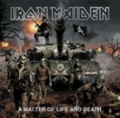 Iron Maiden - A Matter Of Life And Death - CD-Cover
