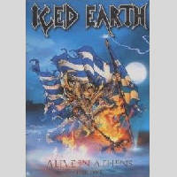Iced Earth - Alive In Athens - The DVD - Cover