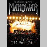 Manowar - The Day The Earth Shook - The Absolute Power (DVD) - Cover