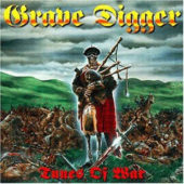 Grave Digger - Tunes Of War - CD-Cover