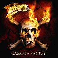 Sinner - Mask Of Sanity - Cover