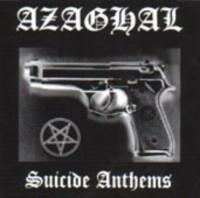 Azaghal / Beheaded Lamb - Suicide Anthems / Dark Blasphemous Moon (Split) - Cover