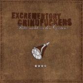 The Excrementory Grindfuckers - Bitte nicht vor den Gästen - CD-Cover