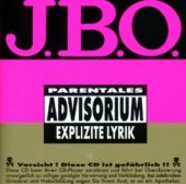 J.B.O. - Explizite Lyrik - CD-Cover