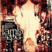 Lamb Of God - As The Palaces Burn - CD-Cover