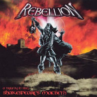 Rebellion - Shakespeare´s Macbeth - A Tragedy In Steel - Cover