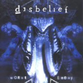Disbelief - Worst Enemy - CD-Cover