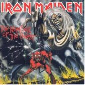 Iron Maiden - The Number Of The Beast - CD-Cover