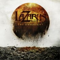 Lazarus A.D. - The Onslaught - Cover