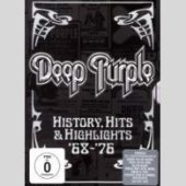 Deep Purple - History, Hits & Highlights `68-`76 (DVD) - CD-Cover