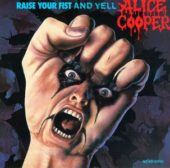 Alice Cooper - Raise your fist and yell - CD-Cover