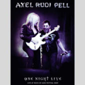 Axel Rudi Pell - One Night Live - CD-Cover
