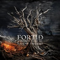 Fortid - Völuspá Part III: Fall Of The Ages - Cover