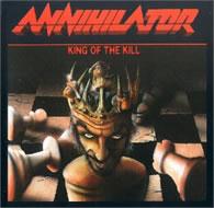 Annihilator - King of the Kill - Cover