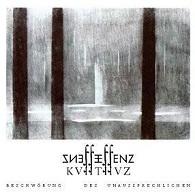 Essenz - KVIITIIVZ - Beschwörung des Unaussprechlichen - Cover