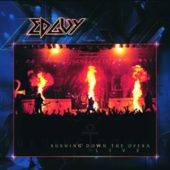 Edguy - Burning Down The Opera (live) - CD-Cover
