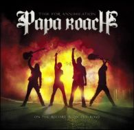 Papa Roach - Time For Annihilation-On The Record And On The Road - Cover