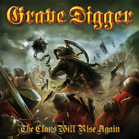 Grave Digger - The Clans Will Rise Again - Cover