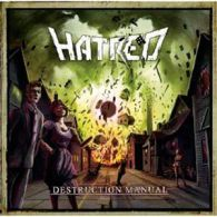 Hatred - Destruction Manual - Cover