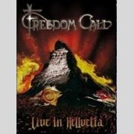 Freedom Call - Live In Hellvetia (DVD) - Cover