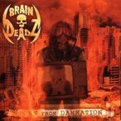 Braindeadz - Born From Damnation - CD-Cover