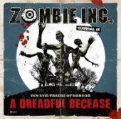 Zombie Inc. - A Dreadful Decease - CD-Cover