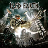 Iced Earth - Dystopia - CD-Cover