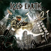 Iced Earth - Dystopia - Cover