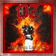 OZ - Burning Leather - Cover