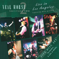 Neal Morse - Testimony 2 – Live In Los Angeles (CD/DVD) - Cover