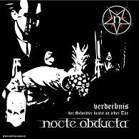 Nocte Obducta - Verderbnis – Der Schnitter kratzt an jeder Tür - Cover