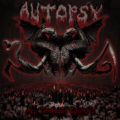 Autopsy - All Tomorrow's Funerals - CD-Cover