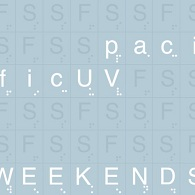 pacificUV - Weekends - Cover