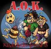 A.O.K. - Kinderlieder frei ab 18 - CD-Cover