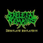 Cover - Skeletal Remains – Desolate Isolation (Demo MC)
